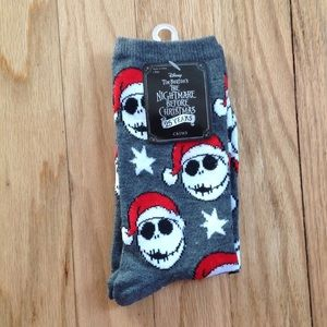 Jack Skellington Nightmare Before Christmas Sock